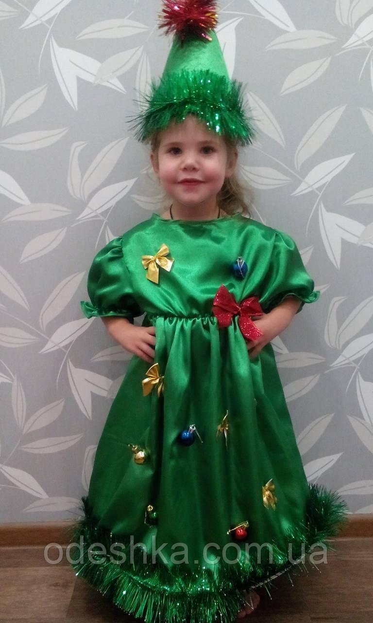 Дитячий карнавальний костюм Ялинки