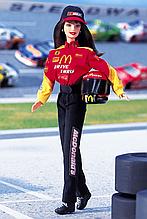 Коллекционная Барби гонщик NASCAR 94 кукла