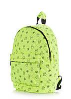Рюкзак стеганый с уточками POOLPARTY, backpack-theone-salad-duc