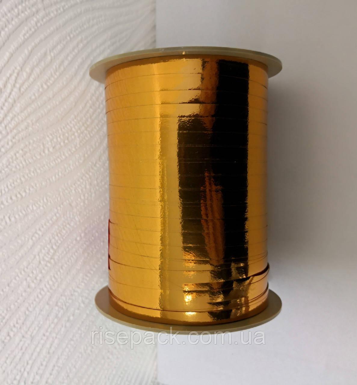 Лента металлизированная ЗОЛОТО медовое