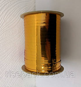 Металізована стрічка ЗОЛОТО медове