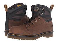 Ботинки Dr. Martens Fairleigh Steel Toe 6-Eye Brown Overlord - Оригинал abb662fb80a9b