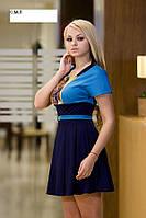 Платье с пышными складками ,склад№2-остаток С размер
