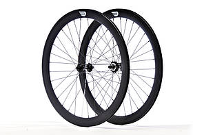 Набір колес Pure Fix Cycles 40 мм, матові чорні