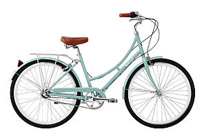 Велосипед Pure Fix Cycles Crosby45 Зелена рама 45 см з білими колесами- 3 швидк.