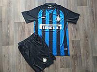 Футбольная форма Интер сезон 2018-2019 основная черно-синяя, S, фото 1