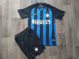 Футбольная форма Интер сезон 2018-2019 основная черно-синяя