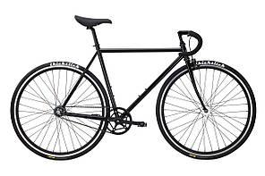 Велосипед Pure Fix Cycles Kennedy58 Матова чорна рама 58 см з матовими чорними колесами