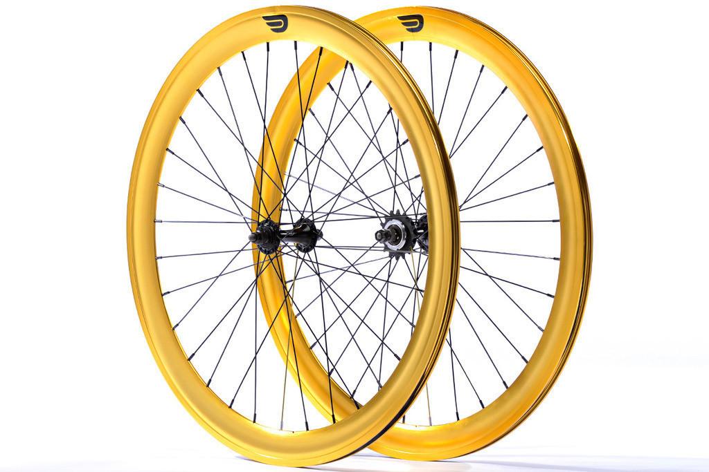 Набір колес Pure Fix Cycles 40 мм, анодовані золотого кольору