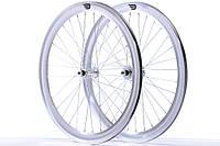 Набір колес Pure Fix Cycles 40 мм, поліровані сріблясті