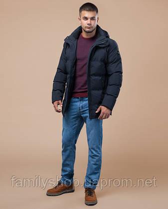 Braggart Youth | Куртка зимняя 25280 синяя, фото 2
