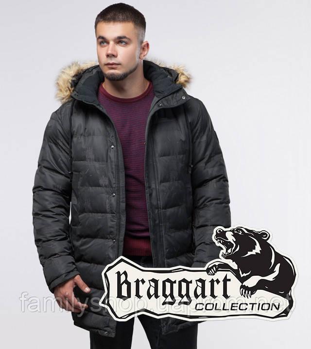 Braggart Youth   Куртка зимняя 25190 серая