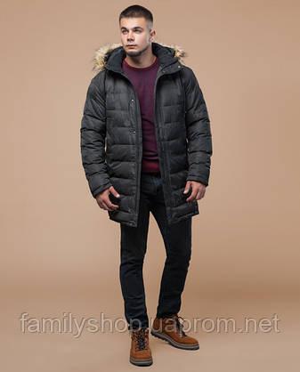 Braggart Youth   Куртка зимняя 25190 серая, фото 2