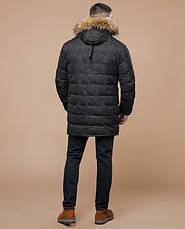 Braggart Youth   Куртка зимняя 25190 серая, фото 3