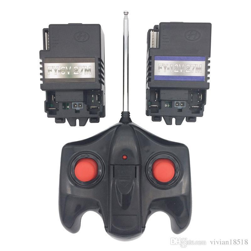 Пульт управления 27 MHz красный для детского электромобиля
