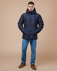 Braggart Youth | Куртка зимняя 25180 темно-синяя, фото 2