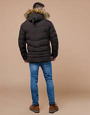Braggart Youth   Зимняя куртка молодежная 25370 кофе , фото 3