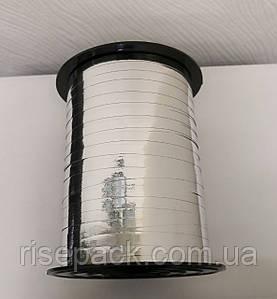Стрічка декоративна металізована СРІБЛО