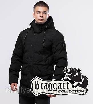 Braggart Youth | Зимняя куртка 25320 черная, фото 2
