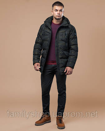 Braggart Youth | Куртка зимняя 25140 темно-зеленая, фото 2