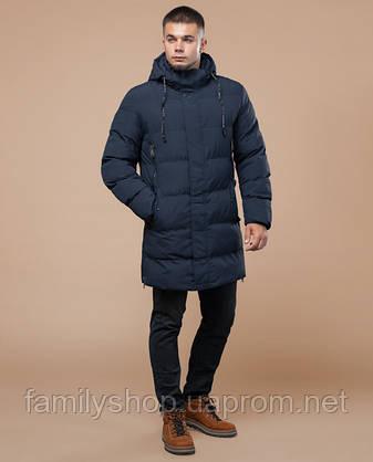Braggart Youth | Куртка зимняя 25040 темно-синяя, фото 2