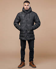 Braggart Youth | Куртка зимняя 25380 черная, фото 2