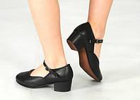 Туфли кожа для народного танца