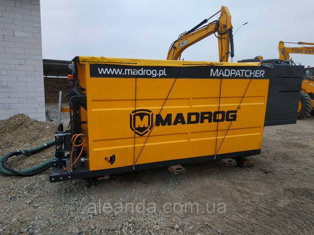 Установка для ямочного ремонта MADROG( новая) тел. 0973061839 Александр