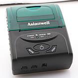 Мобільний чековий принтер 58мм AW-5807LD AsianWell бездротовий, bluetooth, Android, Windows, фото 2