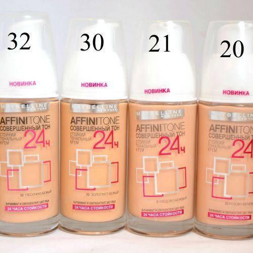 Крем тональный Maybelline AffiniTone 24