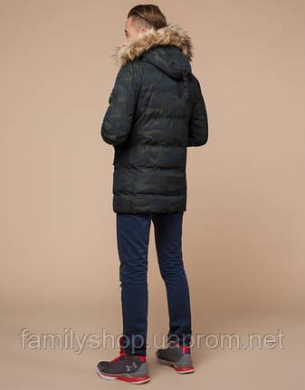Braggart Youth   Куртка зимняя молодежная 25450 темно-зеленая, фото 2