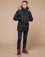 Braggart Youth   Куртка зимняя молодежная 25450 темно-зеленая, фото 3