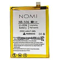 Аккумулятор NB-506 к Nomi i506 2000mAh