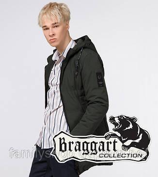 Braggart Youth | Куртка зимняя молодежная 13-25 лет 25400 темно-зеленая, фото 2