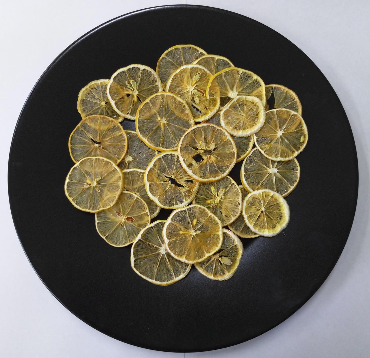 Лимон сушеный кольцами, 50 г