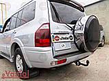 Фаркоп Mitsubishi Pajero Wagon (прицепное Мицубиси Паджеро Вагон), фото 2