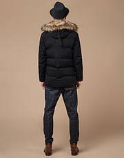 Braggart Youth | Куртка зимняя молодежная 25550 черная, фото 3