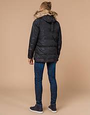 Braggart Youth   Зимняя куртка молодежная 25310 черная, фото 3