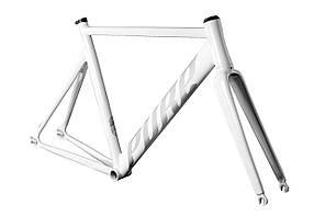 Фреймсет Pure Fix Cycles KeirinPro 52 см білий
