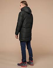 Braggart Youth | Зимняя куртка молодежная 25340 темно-зеленая, фото 3