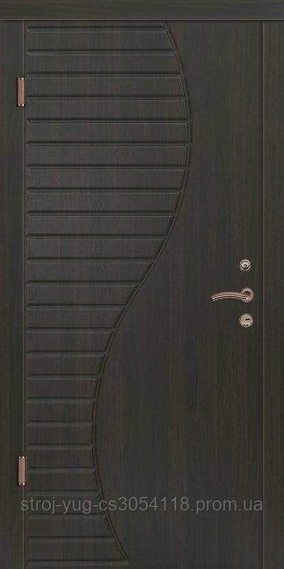 Дверь входная металлическая «Премиум», модель Волна 850*2040*70