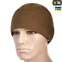 M-TAC ШАПКА WATCH CAP ELITE ФЛИС/СЕТКА WINDBLOCK 380 COYOTE BROWN , фото 1
