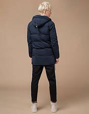 Braggart Youth | Зимняя куртка молодежная 25400 темно-синяя, фото 3