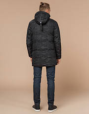 Braggart Youth | Куртка зимняя молодежная 25060 черная, фото 3
