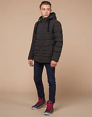 Braggart Youth | Зимняя куртка молодежная 25480 кофе, фото 2