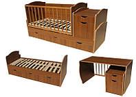 Кровать-трансформер детская Ласка-М, фото 1