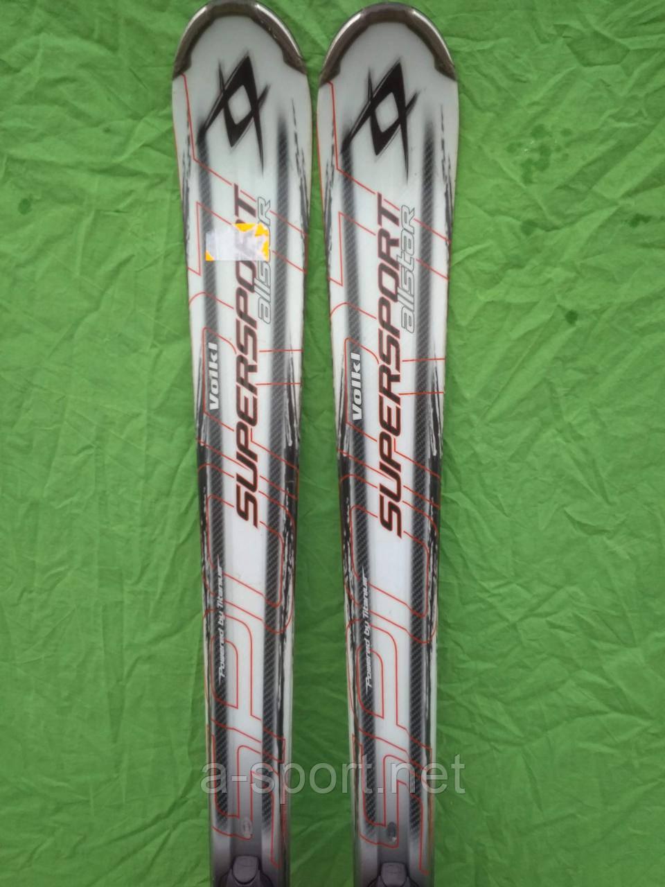 Volkl supersport 168 см гірські лижі, експертний карвінг