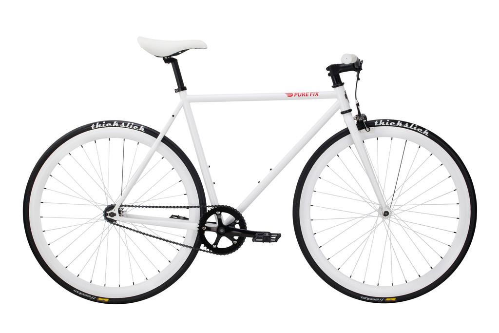 Велосипед Pure Fix Cycles Romeo50 Біла рама 50 сm з білими колесами
