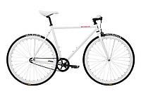 Велосипед Pure Fix Cycles Romeo50 Біла рама 50 сm з білими колесами, фото 1