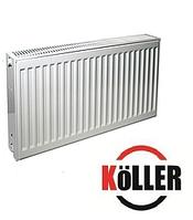 Стальной радиатор 22к 500*500 Keller боковое подключение